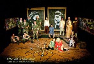 The cast of TROILUS & CRESSIDA
