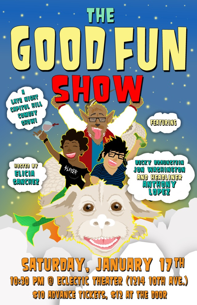 good fun show Jan 2015