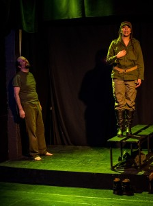 Christopher Martinez and Emily Feliciano in Che.